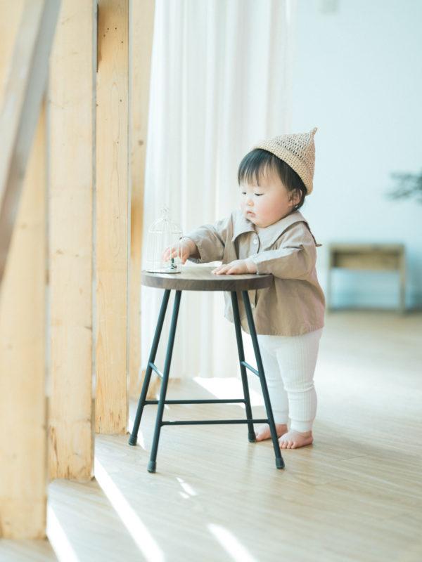 1歳お誕生日記念、そらくん!お洒落ハンドメイド帽子