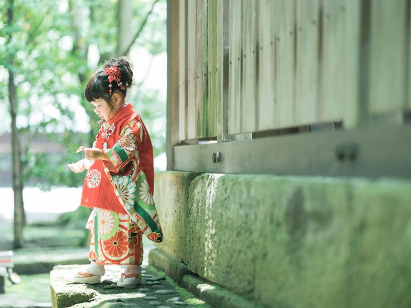 宇都宮二荒山神社、3歳七五三、めぐちゃん!ナチュラル