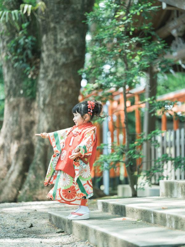 宇都宮二荒山神社、3歳七五三、めぐちゃん!