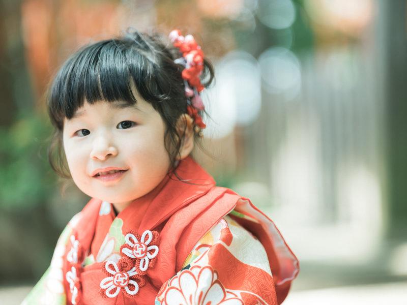 宇都宮二荒山神社、3歳七五三、めぐちゃん!ご機嫌