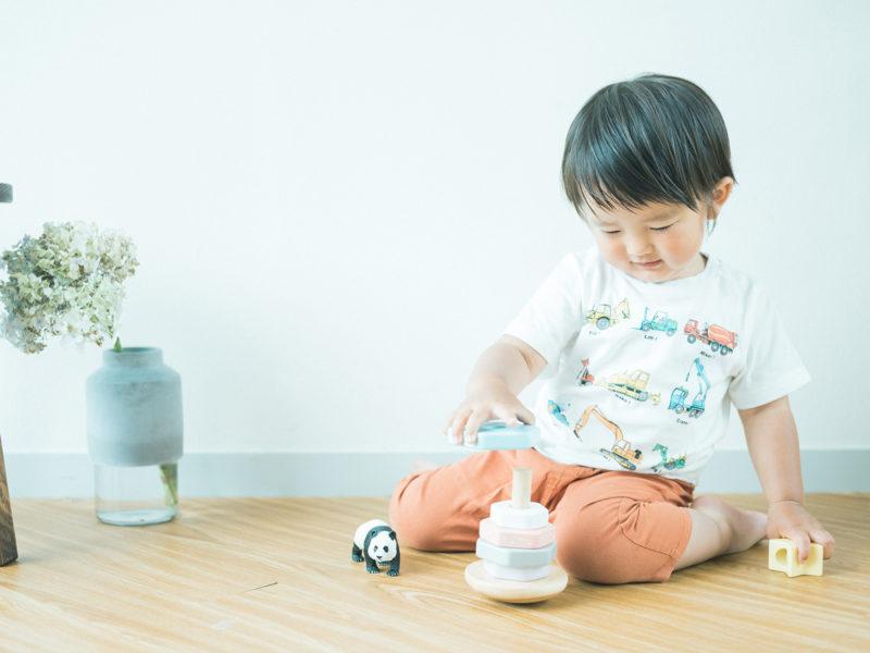 2歳バースデーフォト、しんちゃん!可愛いTシャツ
