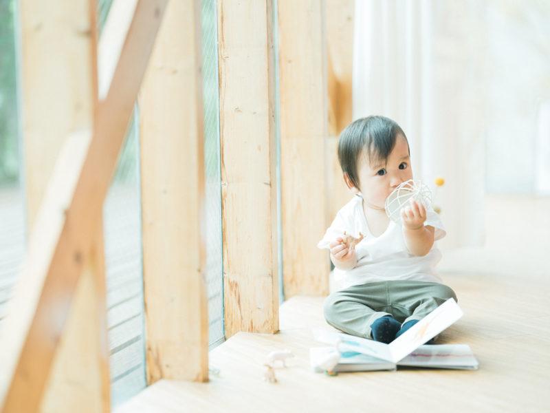1歳バースデーフォト、はるとくん!