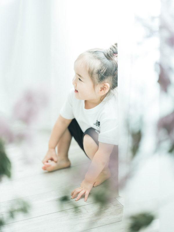 2歳バースデーフォト、まつりちゃん!