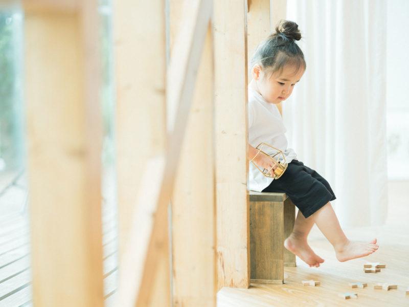 2歳バースデーフォト、まつりちゃん!kiko