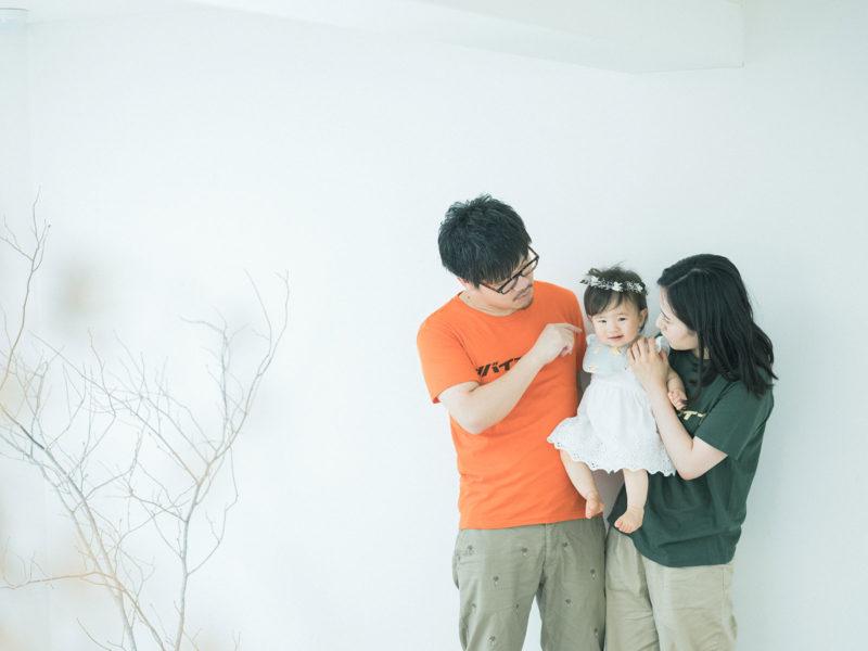 ちひろちゃんファミリー、家族写真!