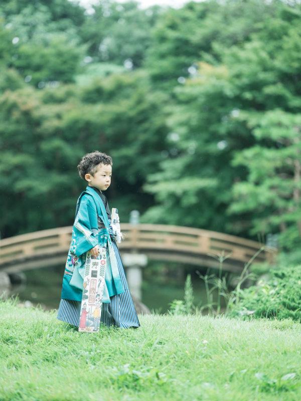 3歳5歳七五三、中央公園ロケ!さくとくん、パパブブレ