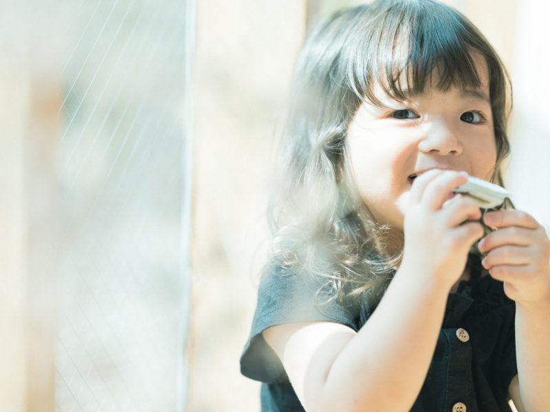 3歳バースデーフォト、こうちゃん!笑顔、可愛い、くせっ毛