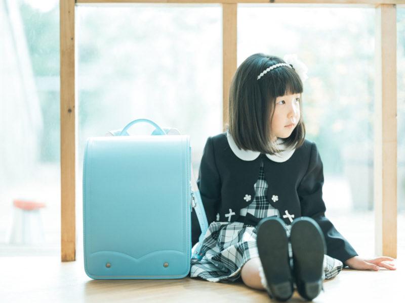 ゆづきちゃん!入学記念、ランドセル