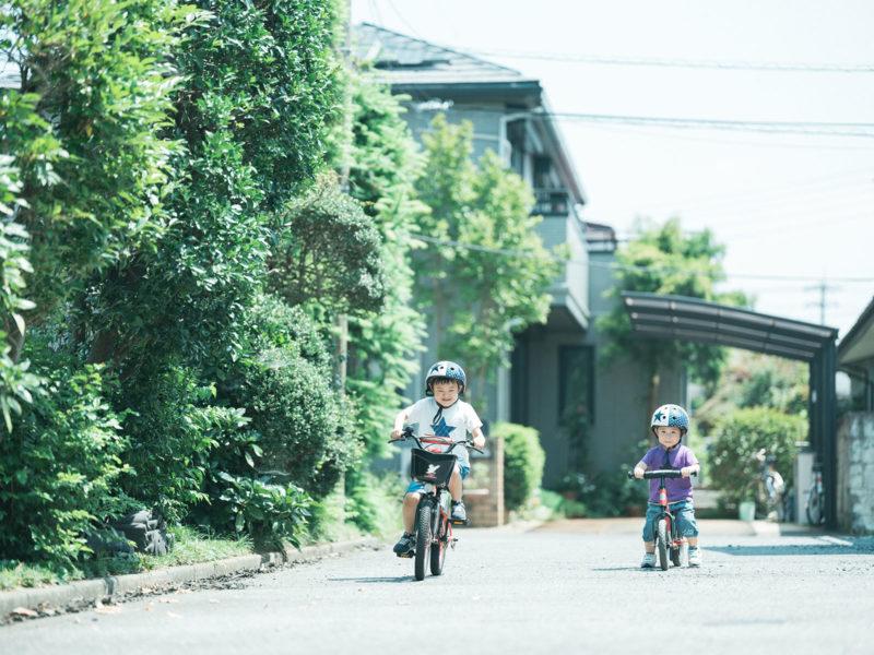 ただまさくん!ただはるくん!自転車、ストライダー