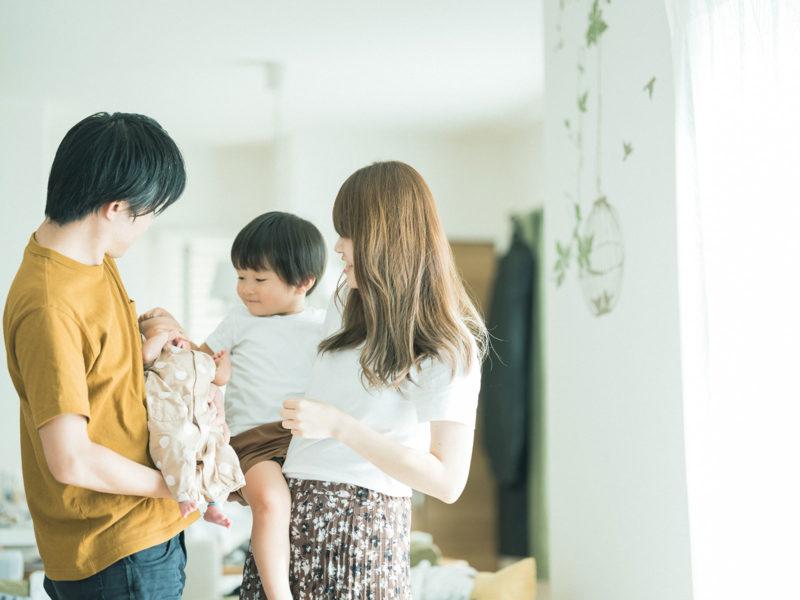 宇都宮自宅出張ニューボーンフォト、みやくん!家族写真