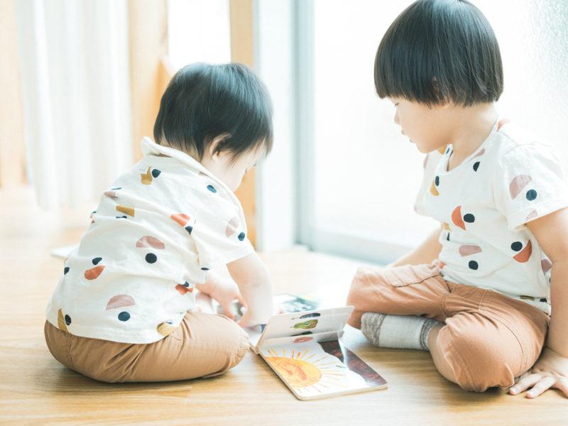 1歳バースデー、なおくん!兄弟写真