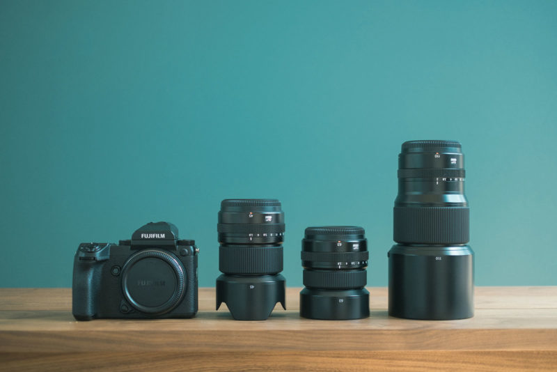 GFX50S、GF45mm、GF63mm、GF110mm、オーバーホール&Xメンテナンスプロ