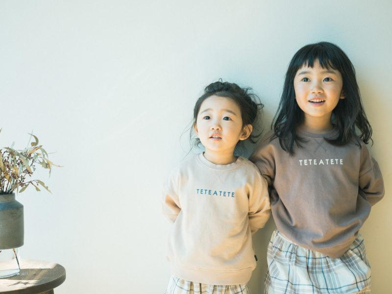 3歳七五三、さよちゃん!姉妹写真、tete a tete
