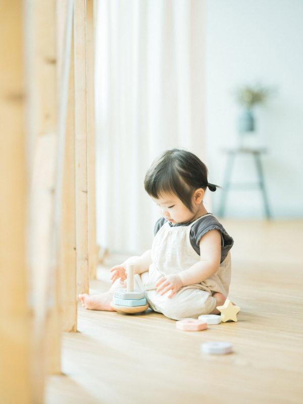 1歳バースデーフォト、ゆのちゃん!