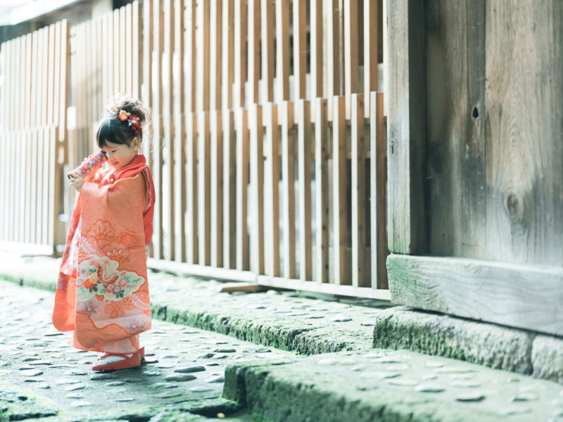 宇都宮二荒山神社ロケ、なつのちゃん、3歳七五三!万華鏡