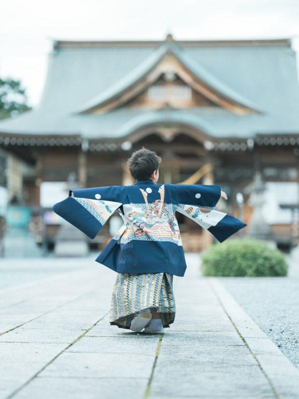 白鷺神社出張撮影、5歳七五三、こうすけくん!