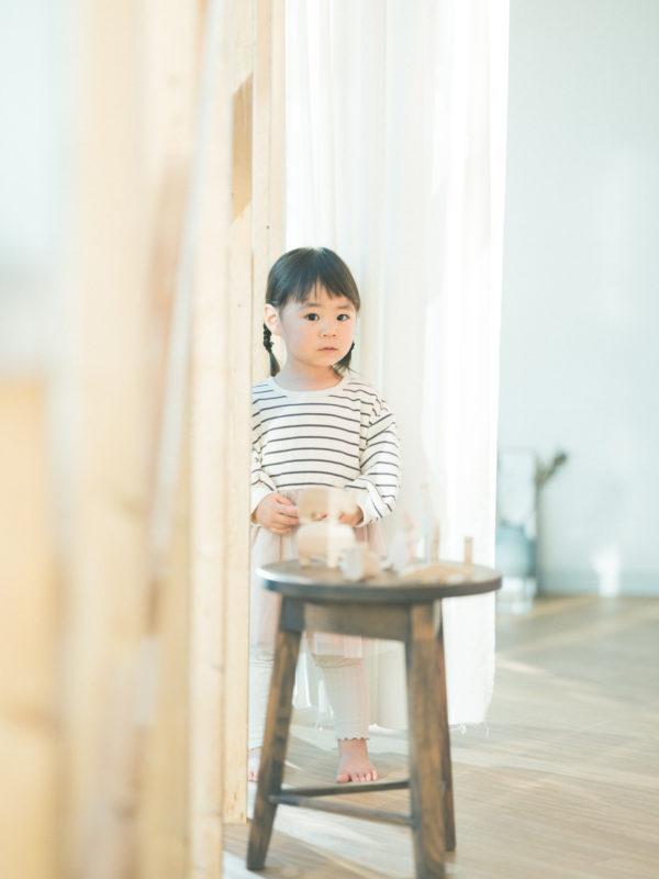 2歳バースデーフォト、つむぎちゃん!可愛い