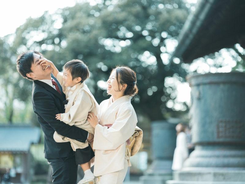 宇都宮二荒山神社、七五三ロケ、5歳七五三、ゆうとくん!家族写真