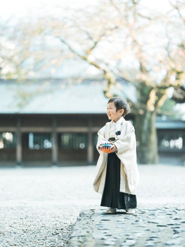宇都宮二荒山神社、七五三ロケ、5歳七五三、ゆうとくん!鞠