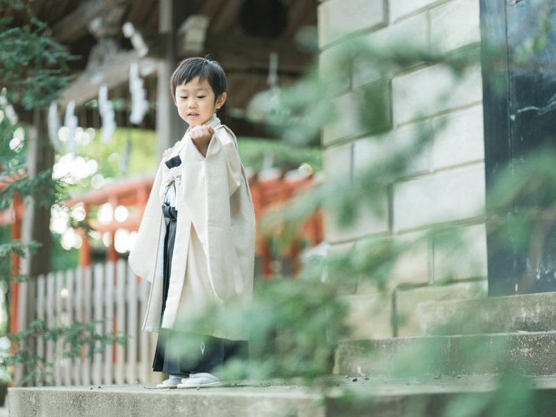 宇都宮二荒山神社、七五三ロケ、5歳七五三、ゆうとくん!稲荷神社