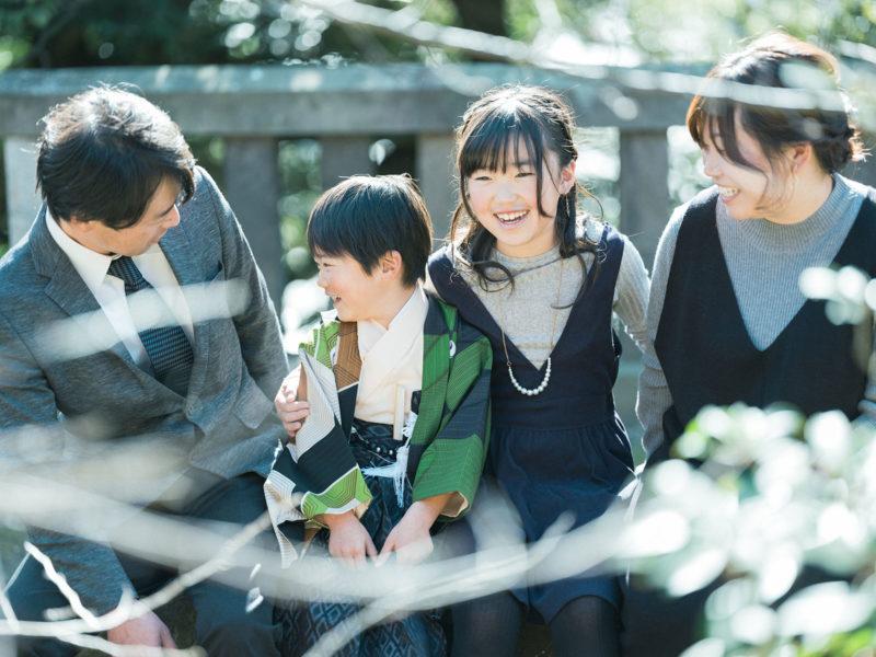 宇都宮二荒山神社、七五三ロケ、5歳七五三、ゆうくん!家族写真