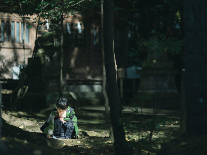 宇都宮二荒山神社、七五三ロケ、5歳七五三、ゆうくん!神社の雰囲気