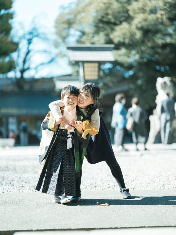 宇都宮二荒山神社、七五三ロケ、5歳七五三、ゆうくん!兄弟仲良し、可愛い