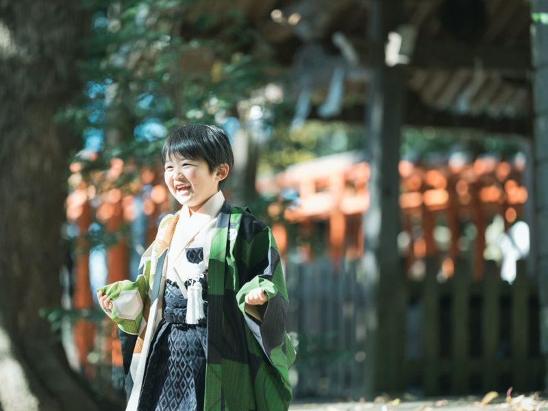 宇都宮二荒山神社、七五三ロケ、5歳七五三、ゆうくん!稲荷神社