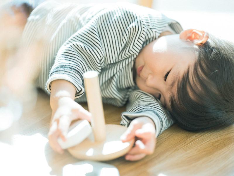 1歳バースデーフォト、さくくん!ごろん、可愛い