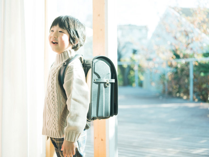 入学記念、みなとくん!土屋鞄のランドセル