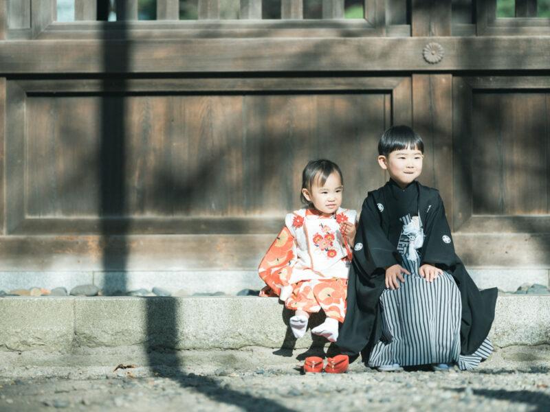 3歳、5歳七五三、宇都宮二荒山神社ロケ、あこちゃん、りんのすけくん!