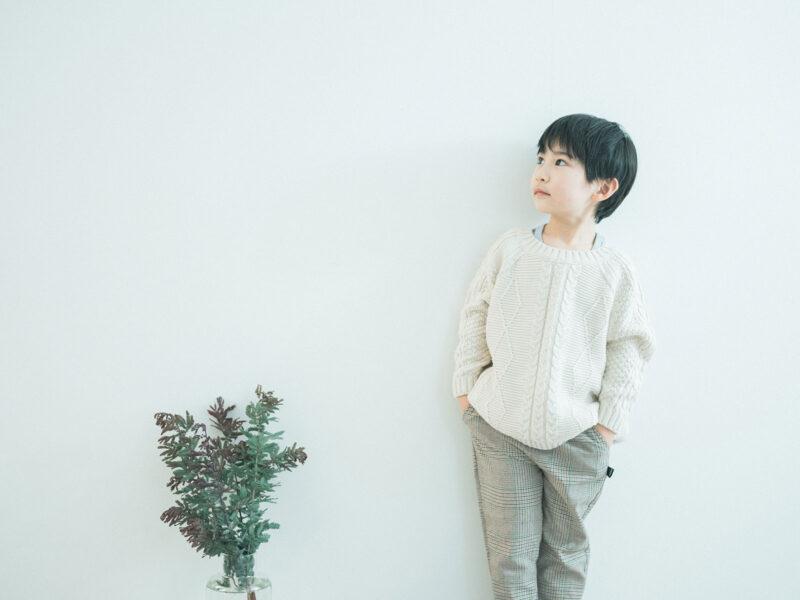 6歳バースデーフォト、ともきくん!イケメン