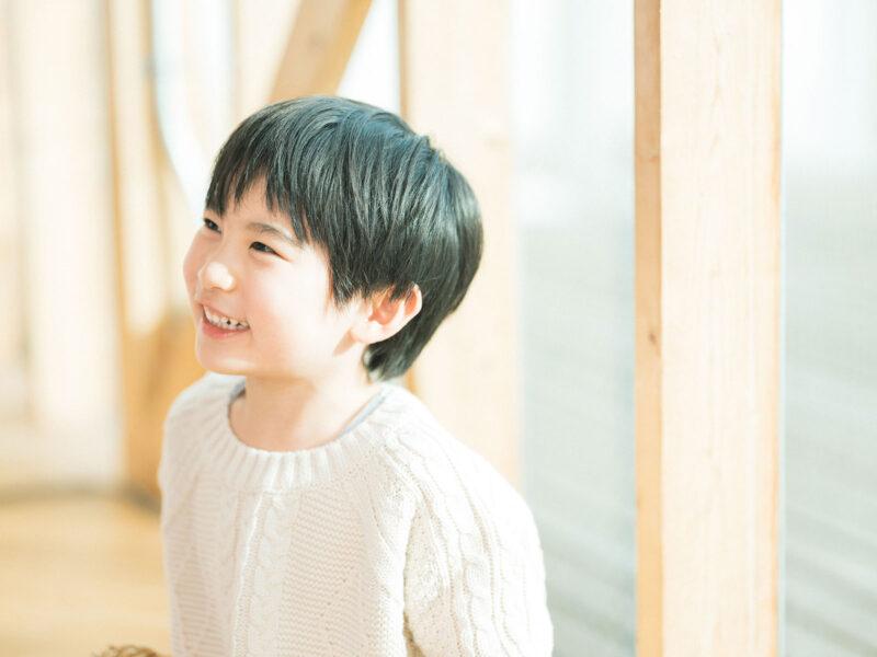 6歳バースデーフォト、ともきくん!
