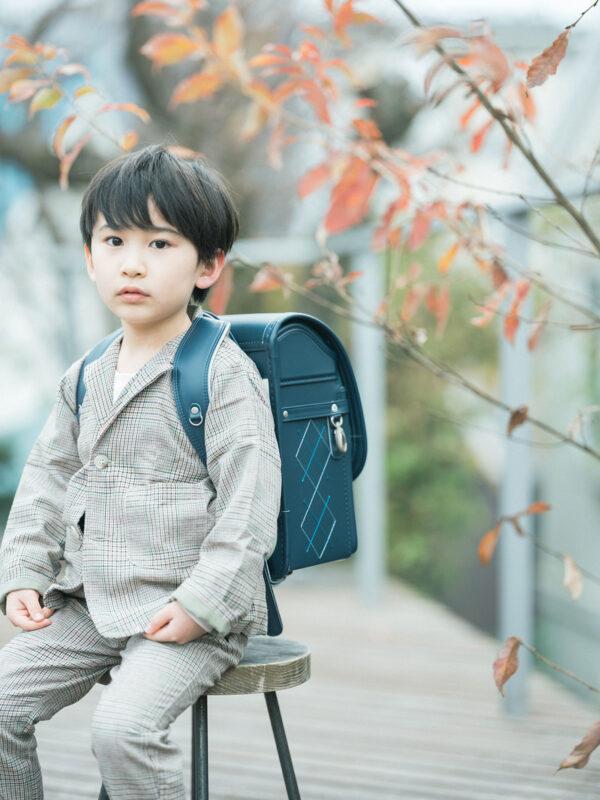 6歳バースデーフォト、ともきくん!入学記念、ランドセル