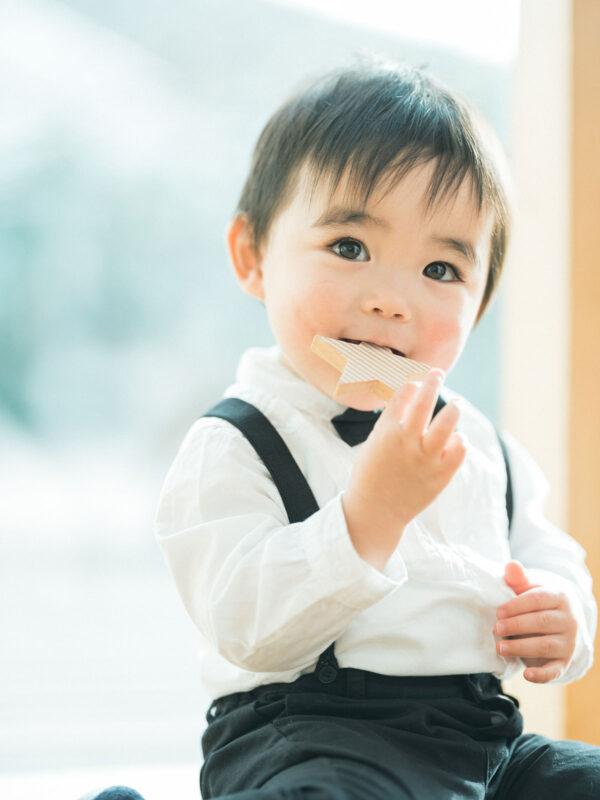 1歳バースデーフォト、ちひろくん!kiko+