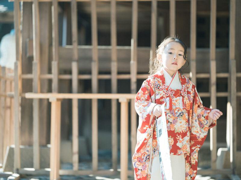 宇都宮二荒山神社ロケ、3歳七五三、まひろちゃん!千歳飴