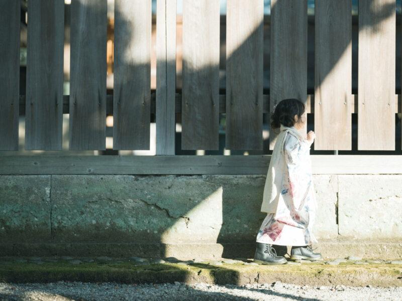 宇都宮二荒山神社ロケ、3歳七五三、さなちゃん!