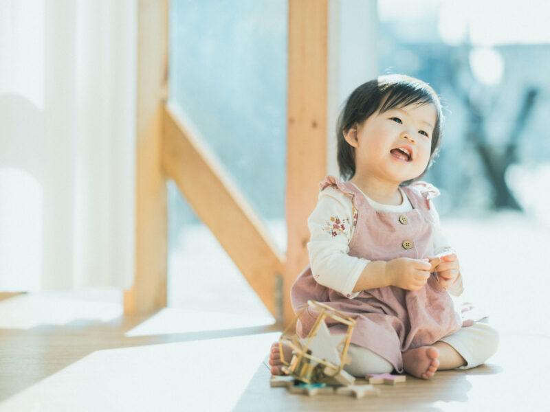 1歳バースデーフォト、ななみちゃん!可愛い