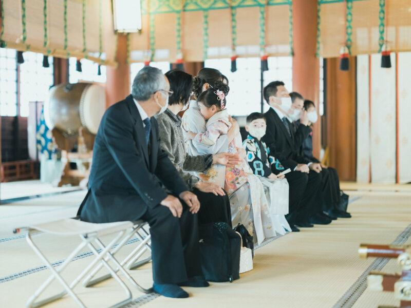 日光二荒山神社、七五三ロケ!5歳七五三こうたろうくん、3歳七五三ほのかちゃん、ご祈祷