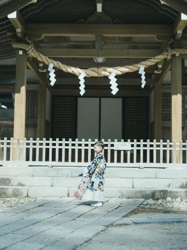 日光二荒山神社、七五三ロケ!5歳七五三こうたろうくん、千歳飴