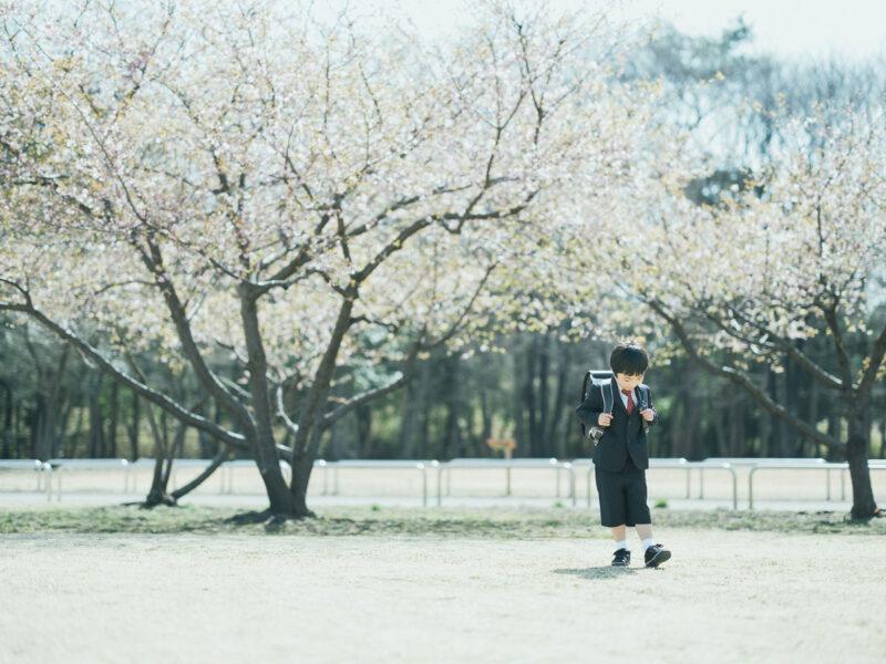みずほの自然の森公園、入学記念ロケ、こうちゃん!ランドセル
