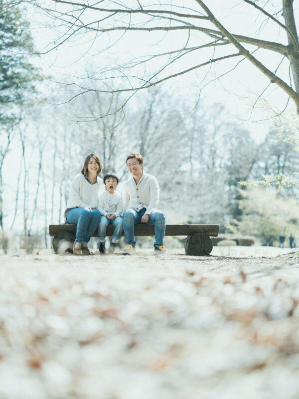 みずほの自然の森公園、入学記念ロケ、こうちゃん!家族写真