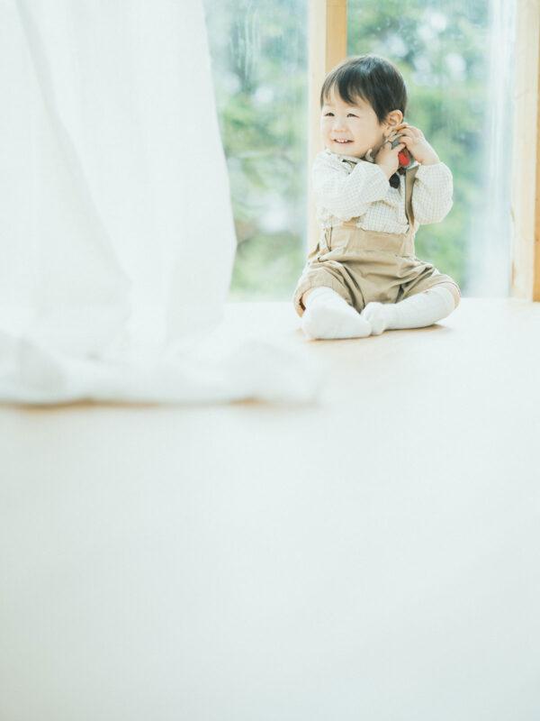 1歳バースデー、はるくん!可愛い