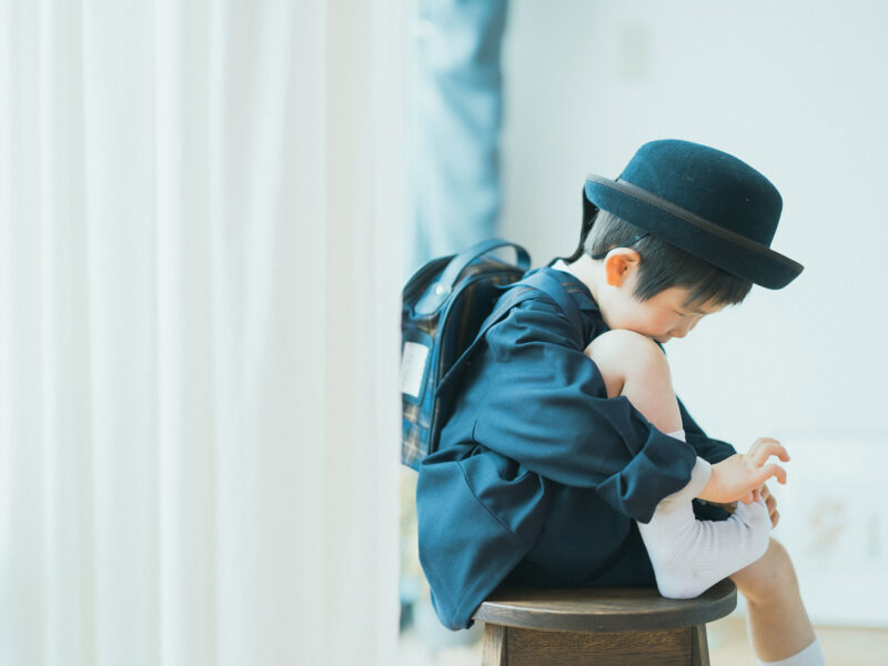 入園記念、こうたくん!園服、園帽