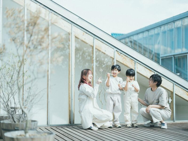 卒園、入学、ゆきやくん!家族写真、シャボン玉