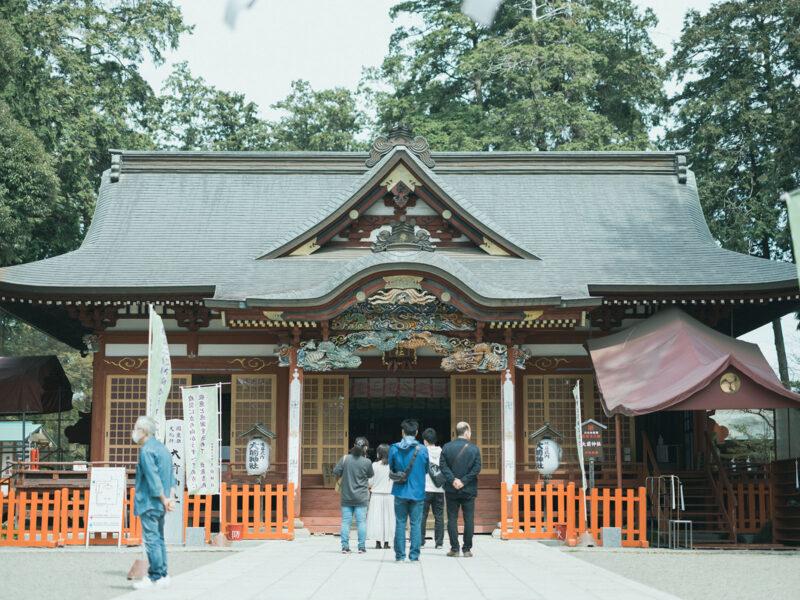 3歳七五三、出張撮影、ことねちゃん!真岡大前神社