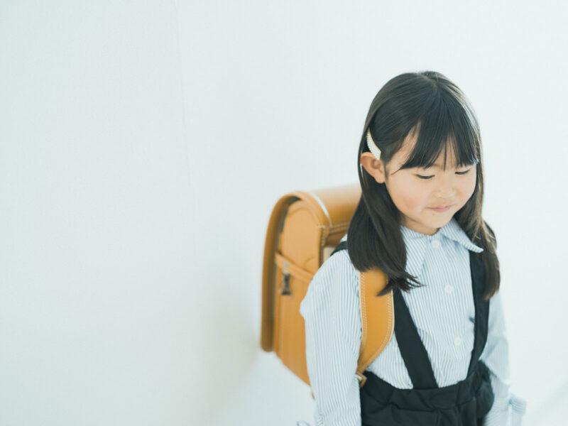 入学、えなちゃん!