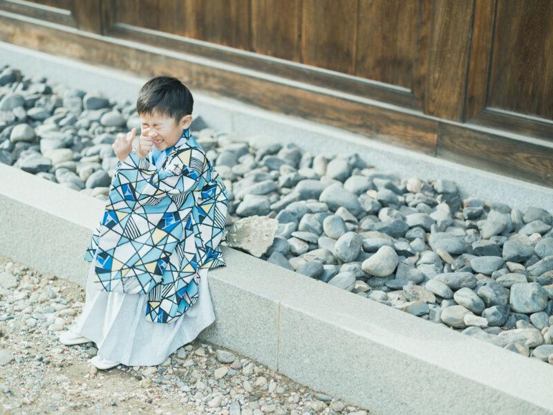 宇都宮二荒山神社、5歳七五三ロケ、えいたくん!ロック