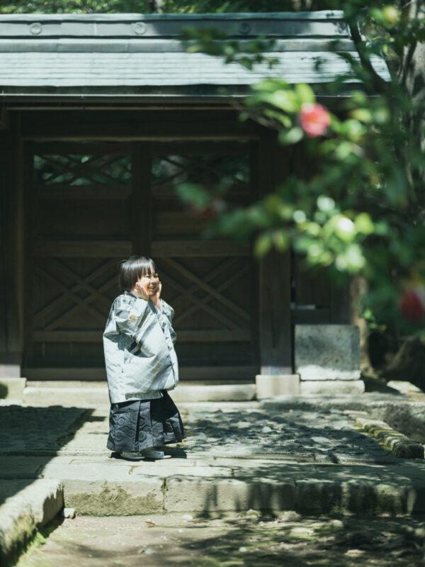 宇都宮二荒山神社、七五三ロケ、5歳七五三、あさひくん!