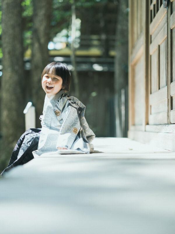 宇都宮二荒山神社、七五三ロケ、5歳七五三、あさひくん!可愛い